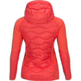 Peak Performance W's Helium Hybrid Hood Jacket Pink Flow